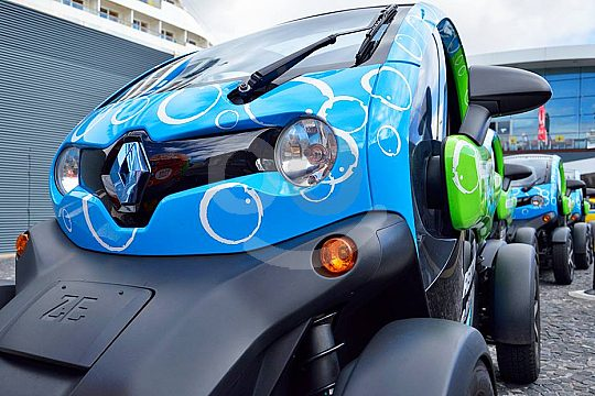 Electric car tour in Madeira