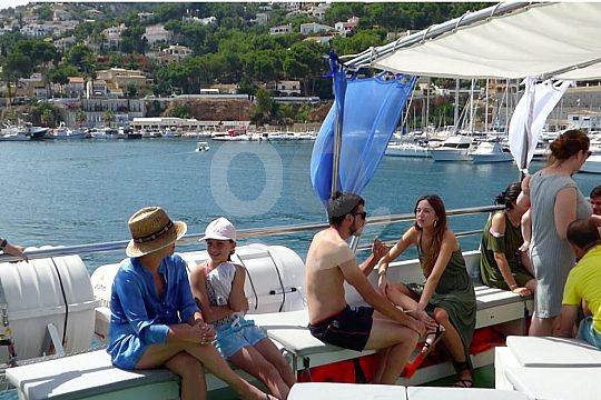 Catamaran sailing tour Gandia