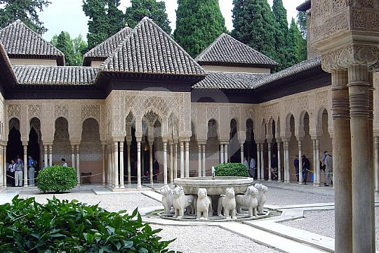 palaces of the Alhambra