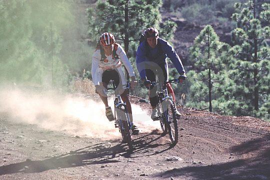 Tenerife bike tours to volcanos