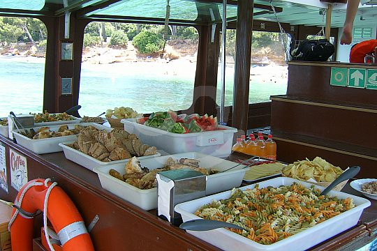Buffet on board