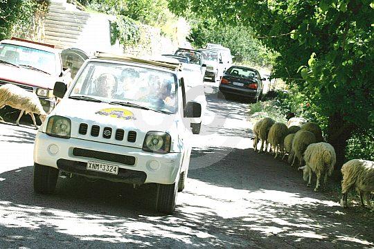 Kreta mit dem Jeep entdecken