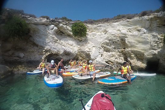 SUP and snorkeling in Loutraki bay