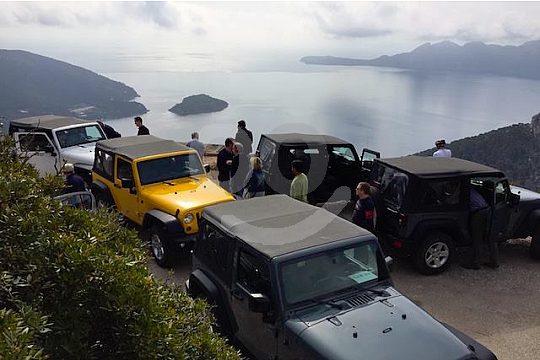 auf der exklusiven Majorca jeep safari