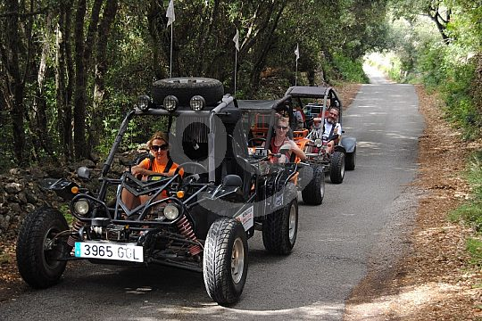 Minorca buggy tour in the North