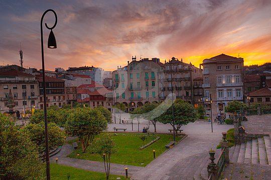 twilight in Pontevedra
