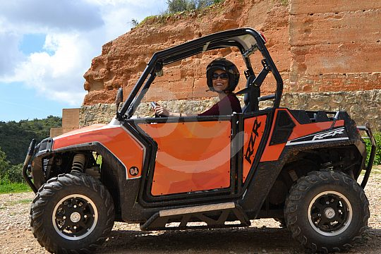 Off-Road-Trails with RZR Buggys in Sintra 1