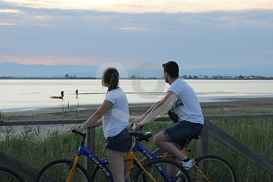 bike tours in Delta del Ebro