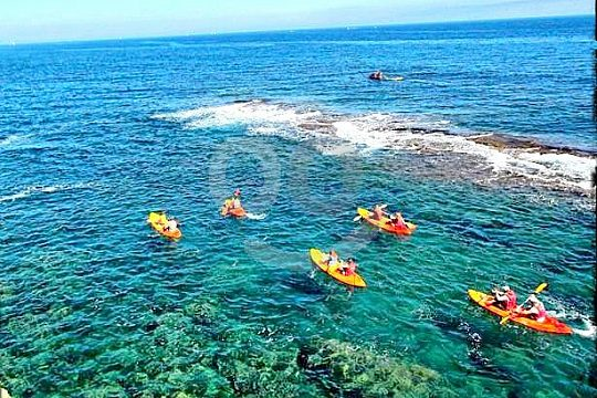 excursion by kayak from Denia