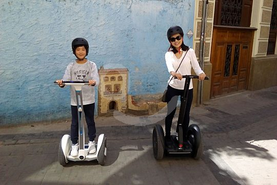 ride Segway with the whole family
