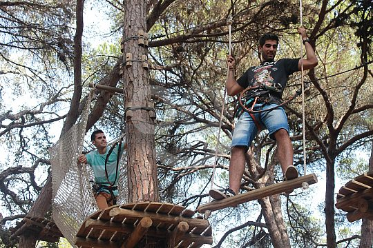 High ropes Portugal