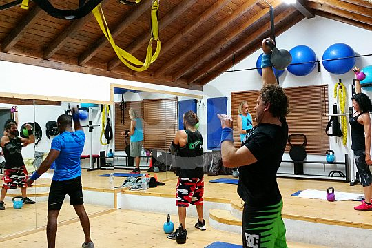 Fitness group course in Fuerteventura North