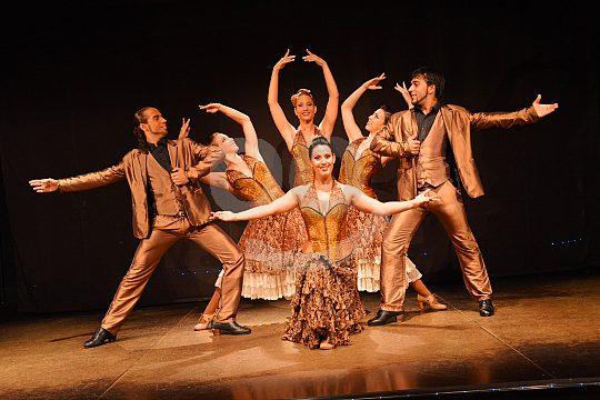 traditional flamenco show in Barcelona