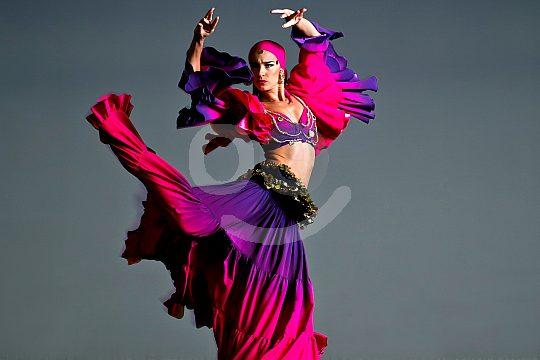 modern dance at the show of Carmen Mota