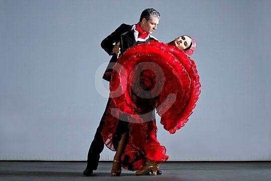 the flamenco show in Playa de las Americas