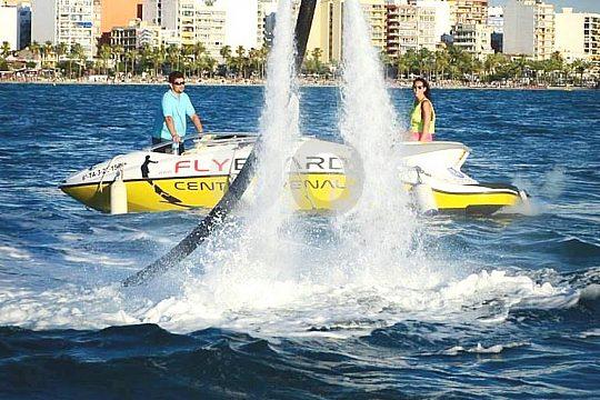 accompanying boat