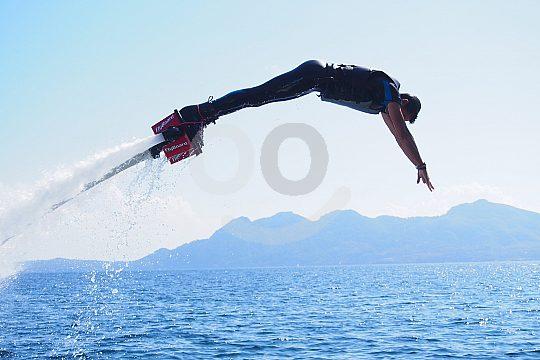 Flyboard Mallorca dive