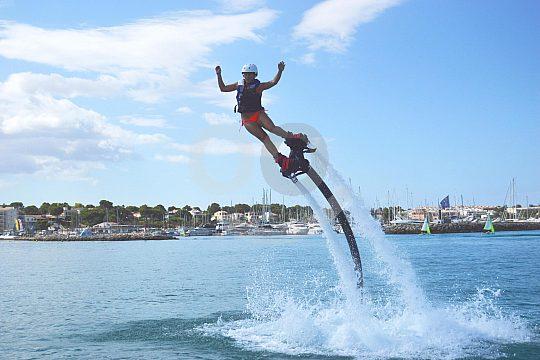 Learn flyboarding in Mallorca