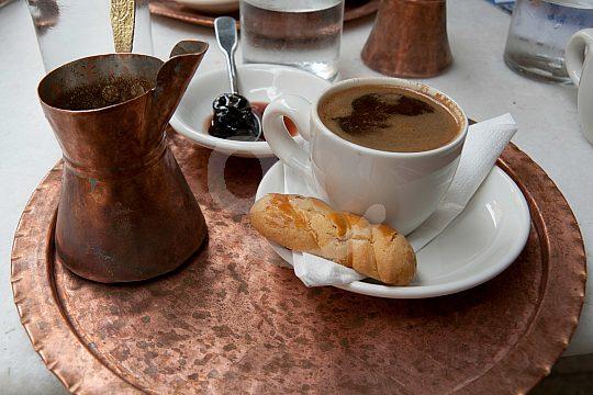 Breakfast tray on Crete