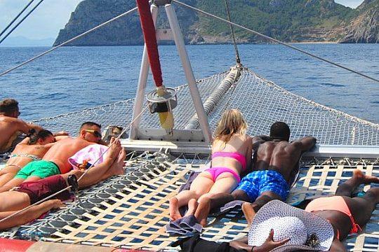 Playa Formentor tour by catamaran