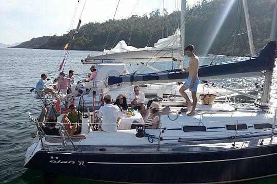 Vigo sailing boat charter