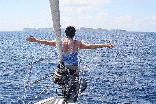 Sailing excursion in Mallorca
