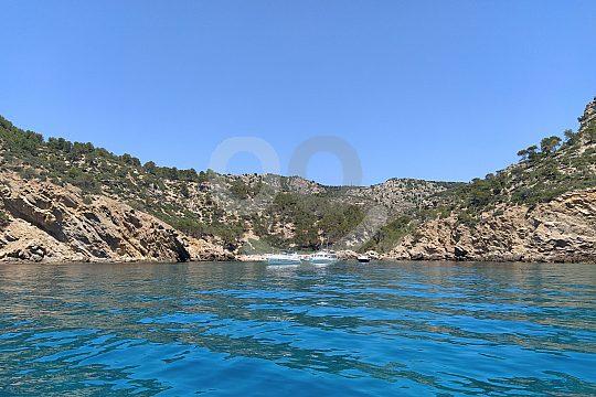 Bootstour ab Sant Elm im Boot ohne Führerschein