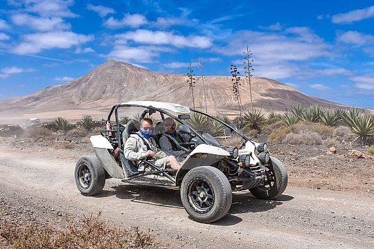 offraod durch die Vulkan Area auf Fuerteventura