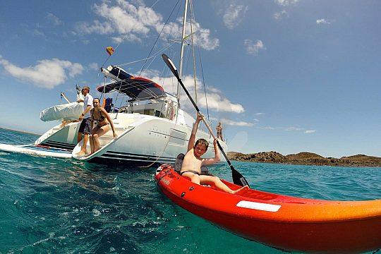 Private Katamaran Tour auf Fuerteventura