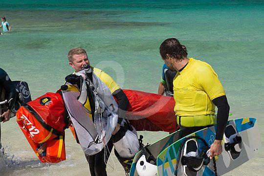 Kitesurf classes in Fuerteventura