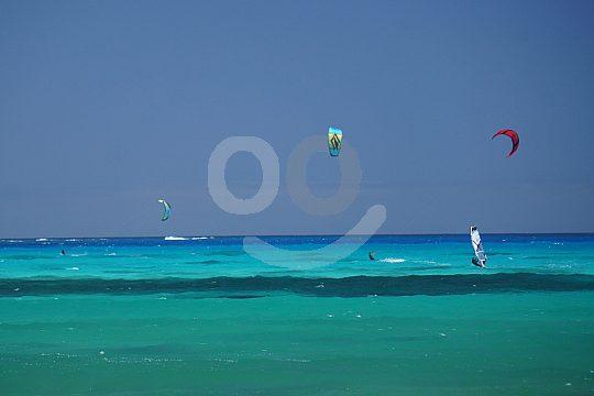 Fuerteventura kitesurfing