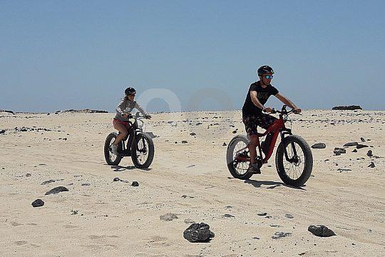 Fahrradtour durch die Wüste