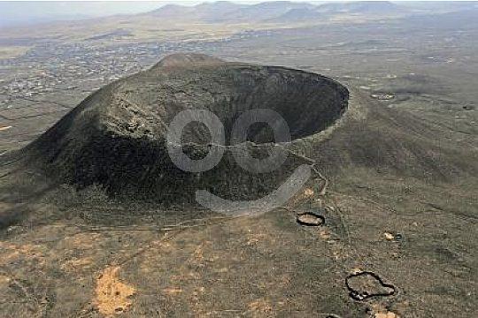 Volcanos in Fuerteventura