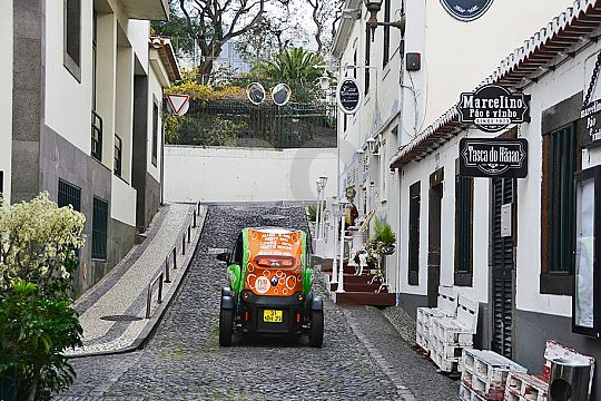 Through the streets of Funchal