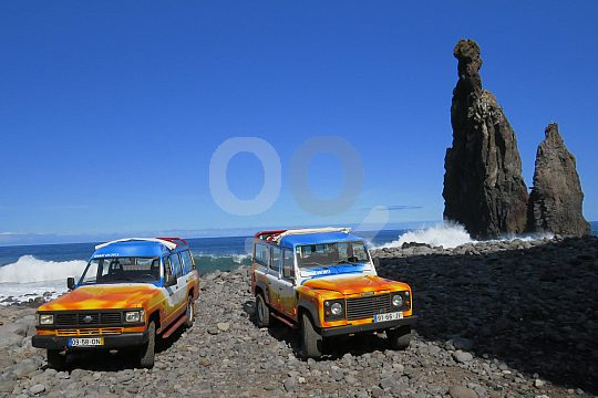 with 4x4 Jeeps in Madeira