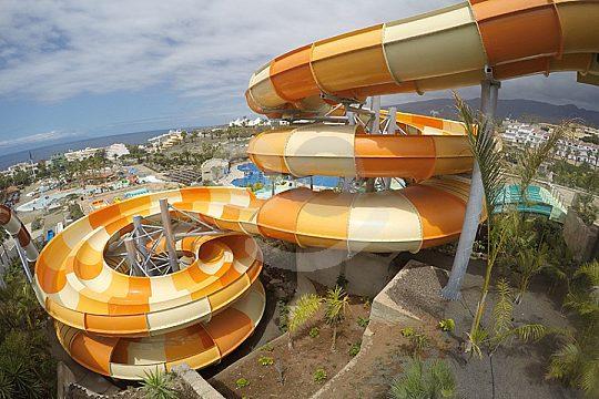 Aqualand slides in Tenerife