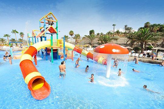 Slides Aqualand children Tenerife
