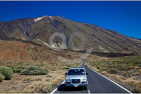 View of the volcano Teide on Tenerife with the VIP Tour