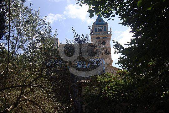 gardens of the monastery of Valldemossa