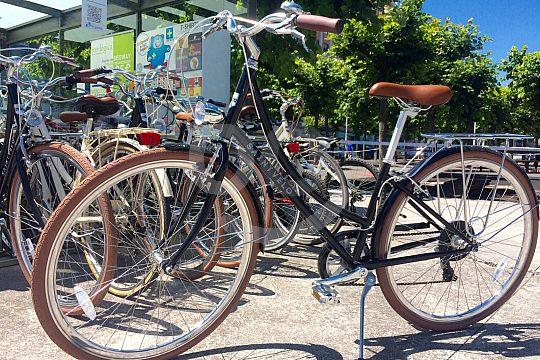 Gijón bike rental station