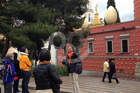 Ab Barcelona Dalí-Museum mit Guide in Figueras