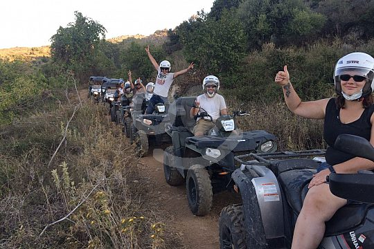 Fun on the Quad Safari in Crete