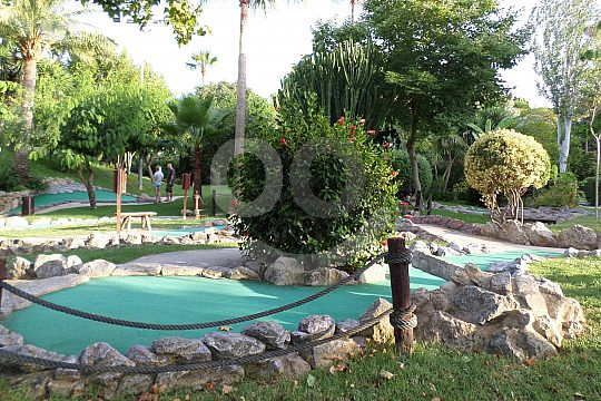 course for mini golf in Mallorca