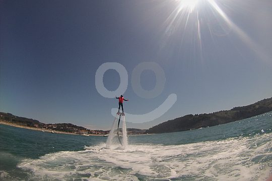 Water sports on the Basque coast