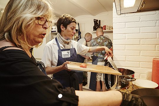 Grandma's cooking class in Barcelona