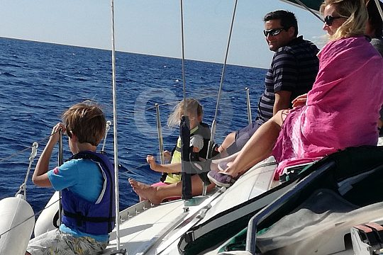 sailing trip from Rhodes-City