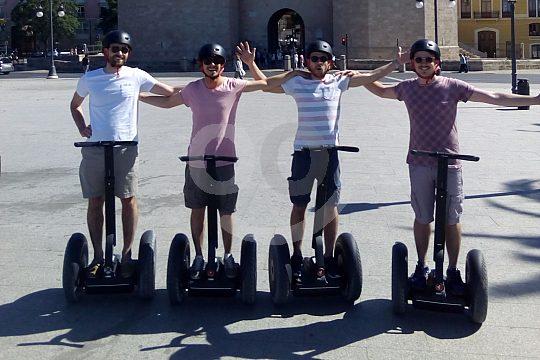 group at the Valencia Segway Tour