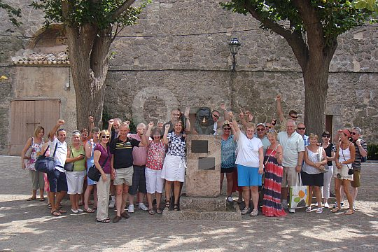 guided walking city tour Sóller