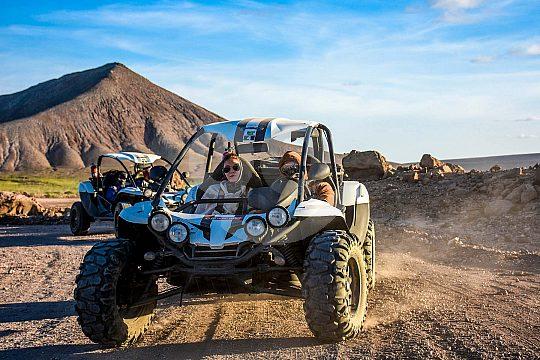 mit Buggy über Nebenstraßen auf Fuerteventura