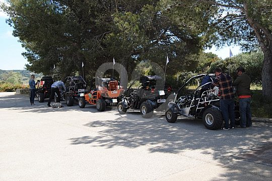 guided buggy tour on Minorca